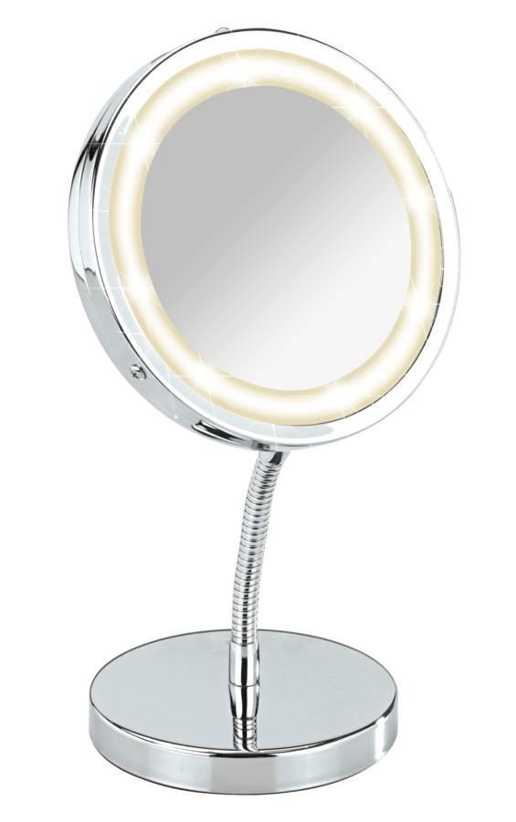 Standspiegel mit LED-Lampe | home24