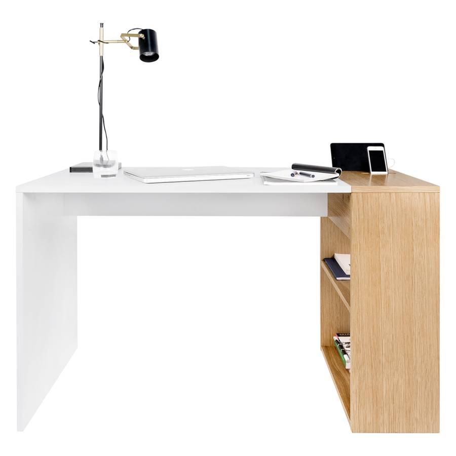 Matt Schreibtisch Zoelen Matt Schreibtisch Zoelen WeißEiche 5L4j3AR