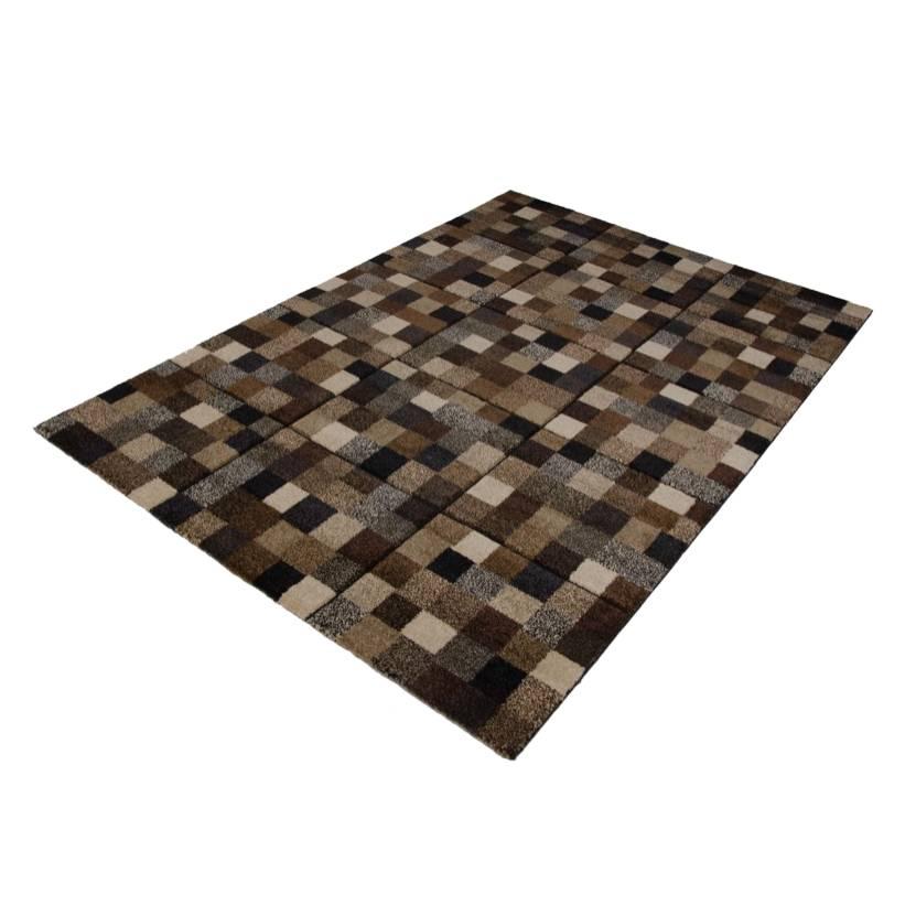 Design Teppich 290cm Mosaik Braun200cm X 80wkPnO