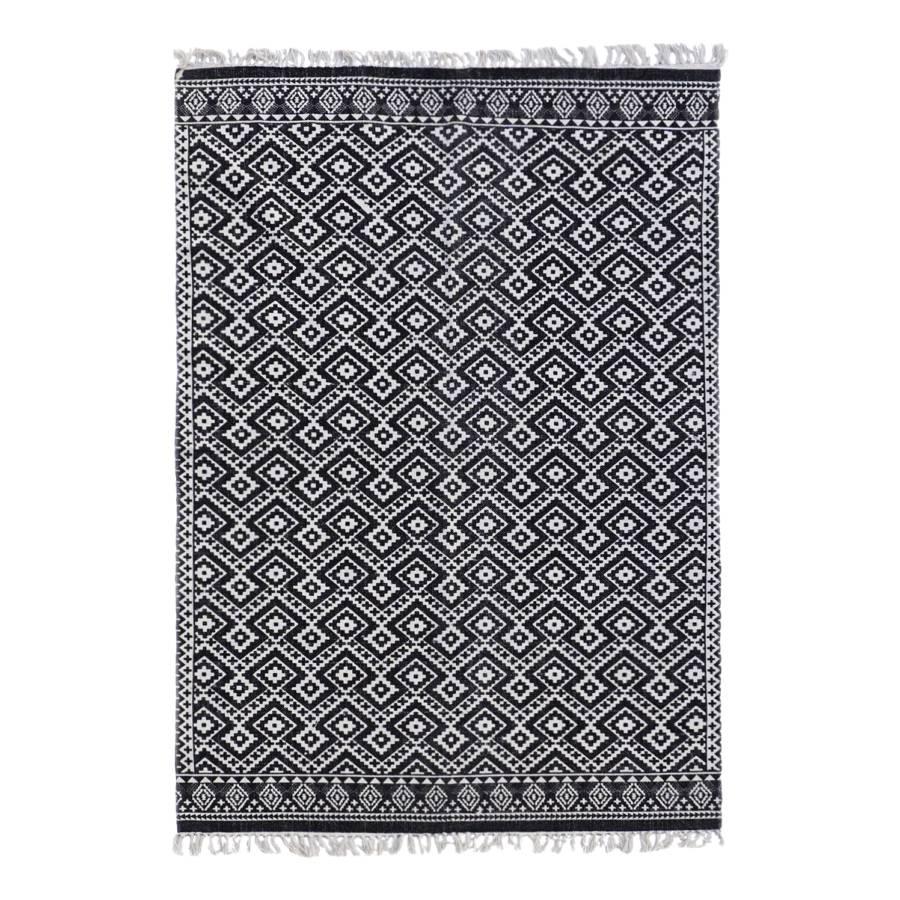 Teppich Teppich Teppich Ethno Pattern Schwarz Ethno Schwarz Ethno Pattern WED2IH9