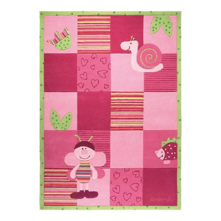 Teppich Kids Collection   Handgetuftet   Pink   140 X 200 Cm