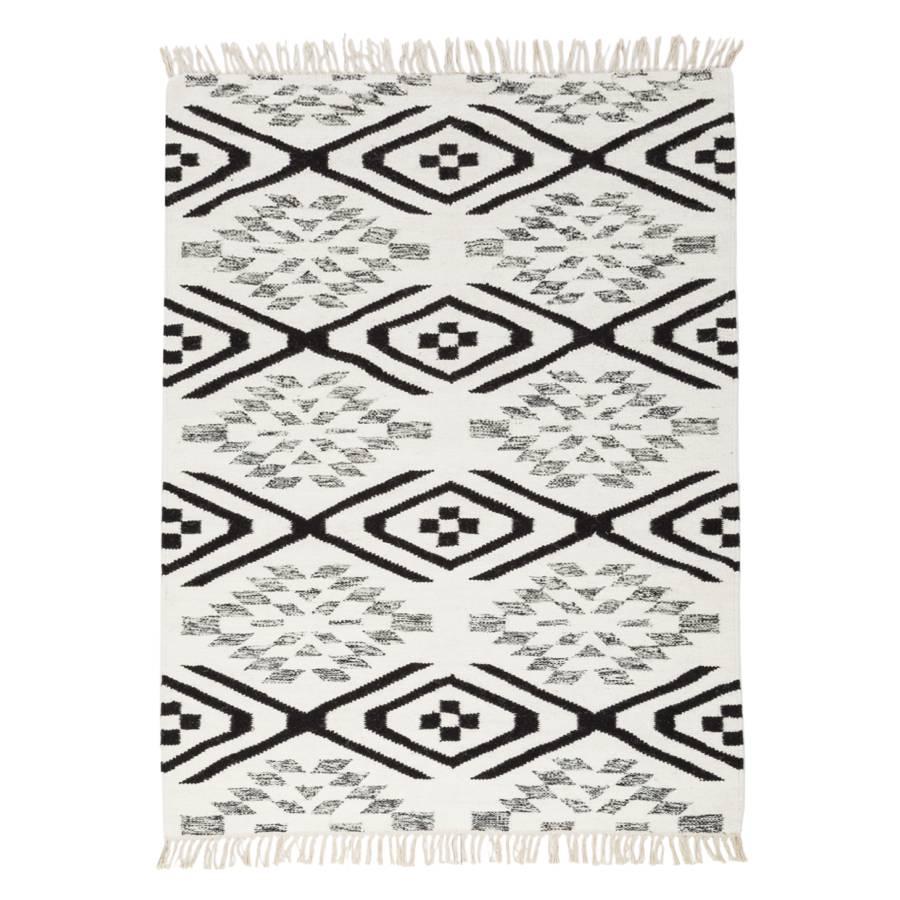 Hervorragend Teppich Lyon   Schwarz / Weiß / Hellbraun   120 X 180 Cm
