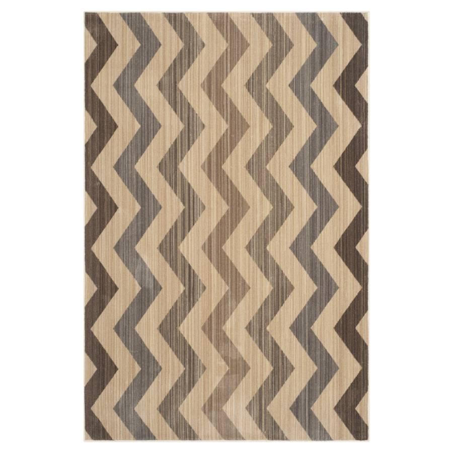 Teppich Maddalena   Gelb/Braun   Maße: 121 X 182 Cm