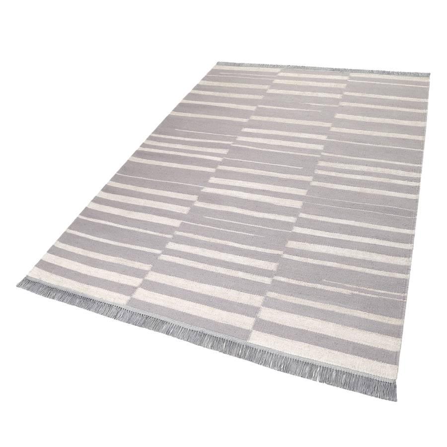 Teppich X Skid MarkshandgewebtGrauCreme160 230 Cm K3FT1clJ