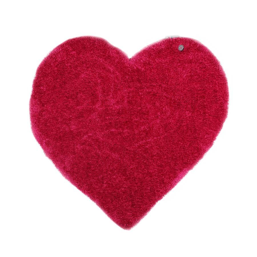 Vif100 Heart Tapis Cm Soft X Rose Yb76fyg