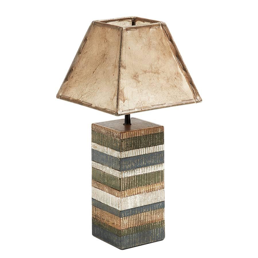Albero De Table BoisCuir1 Lampe Ampoule P0wOnk