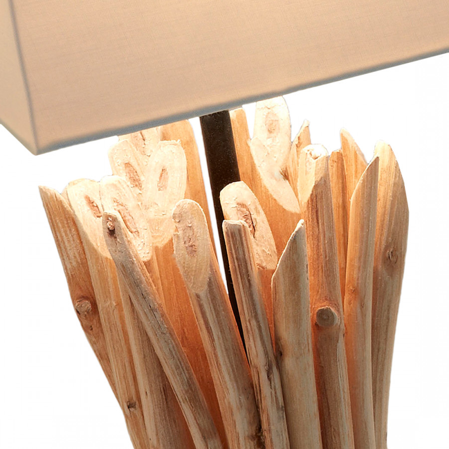 Tischleuchte Holz Boop Julià flammig stoff1 By ZwOPklXiTu