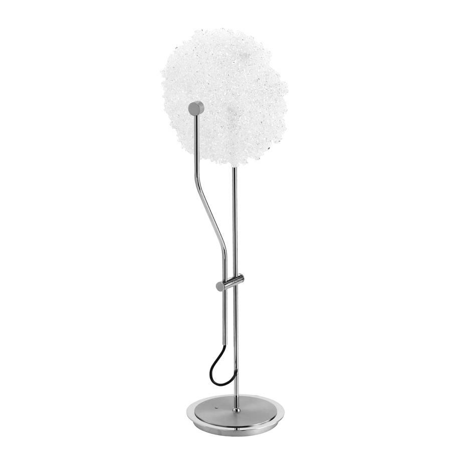 Argenté FerMatériau Lampe Table Led Synthétique Contour De XwkOPZTiu