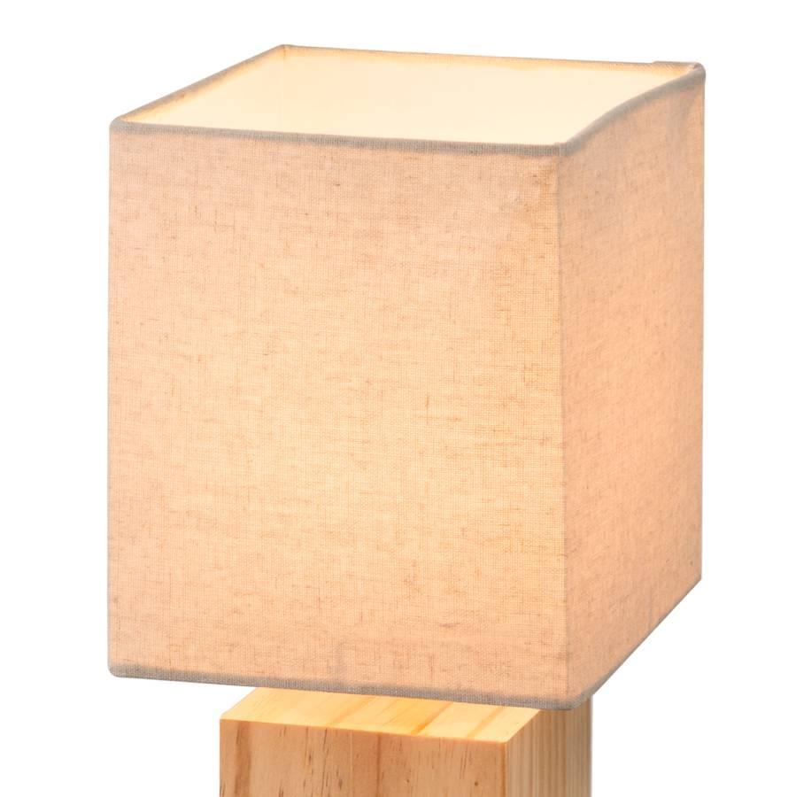 Cube Massiv1 flammig WebstoffKiefer Ilona Tischleuchte RS34j5qAcL
