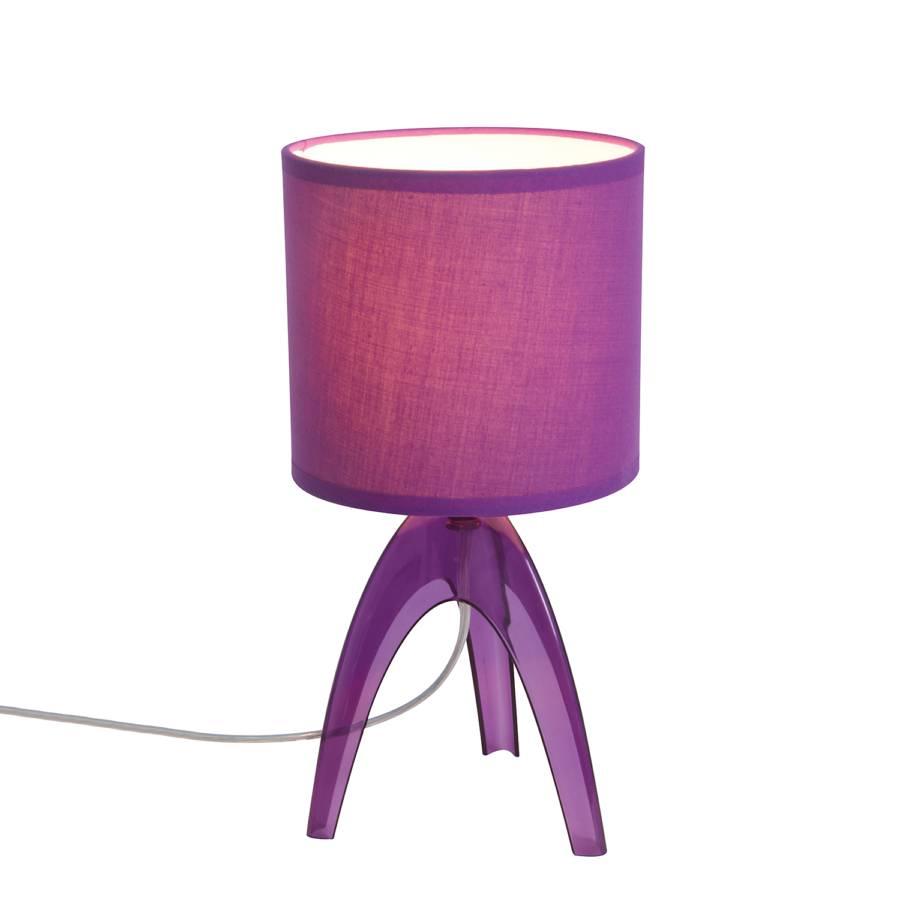 1 Kunststoff Tischleuchte stoffViolett stoffViolett Tischleuchte flammig Kunststoff flammig 1 Tischleuchte Kunststoff 8n0OPwkX