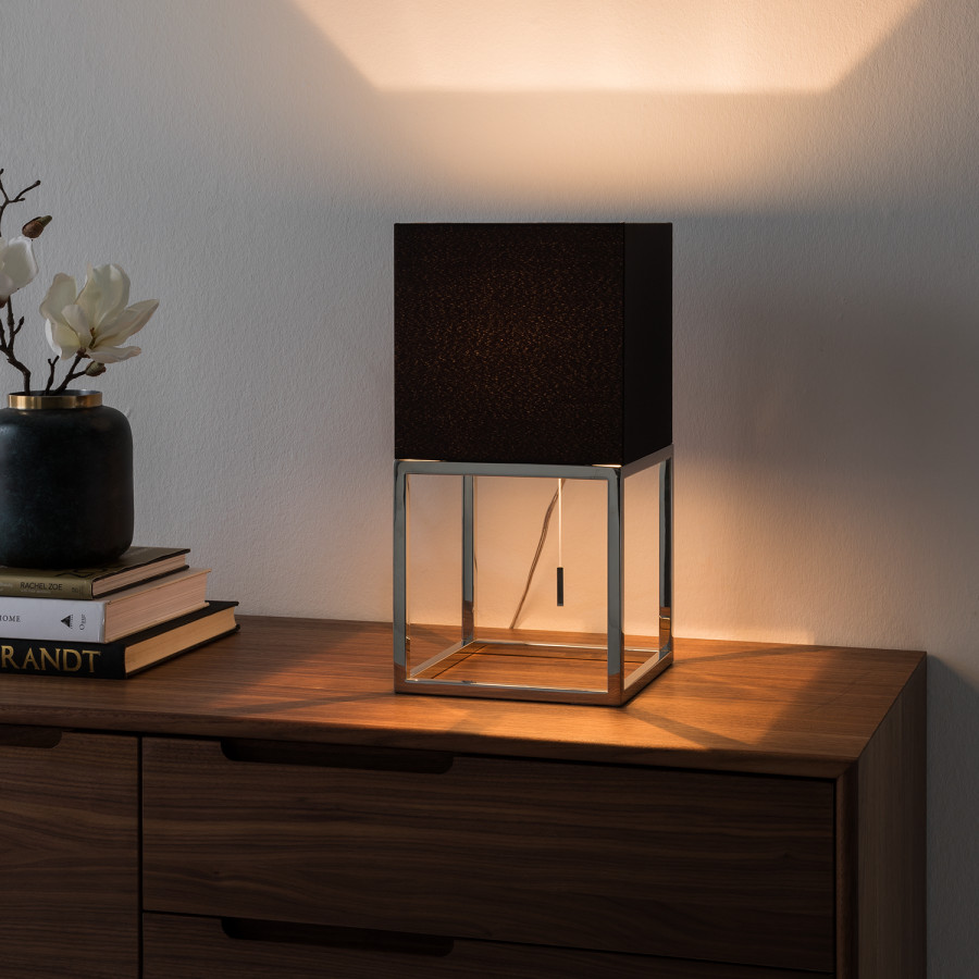 Vitus De Inoxydable1 TissuAcier Ampoule Lampe I Table gyf6bY7