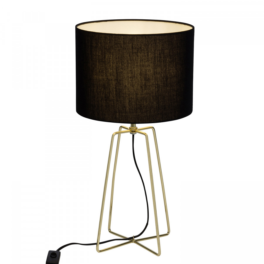 De Noir Table Lampe Grigory Table Lampe De Lampe Grigory Noir 2WDHE9I