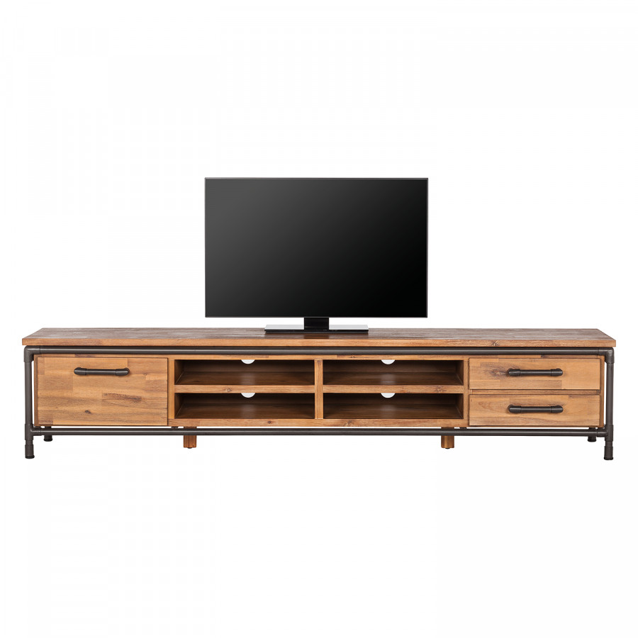 MassifLava Acacia Tv Atelier Partiellement Ii Meuble nyNv0Om8w