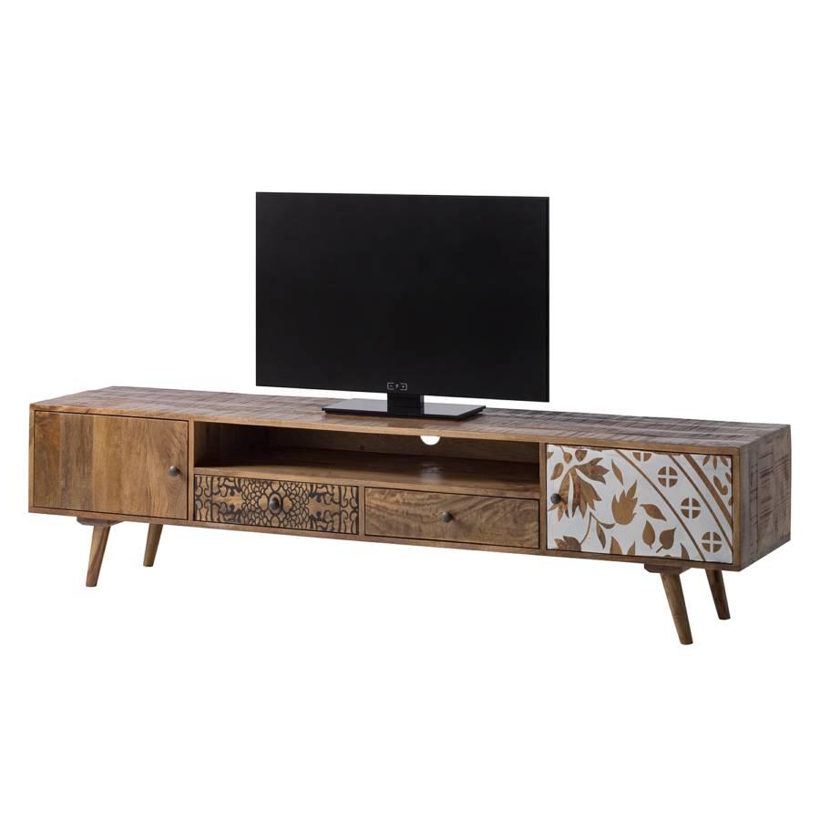 lowboard Ii Rygge Mango Massiv Tv yNmOn0v8w