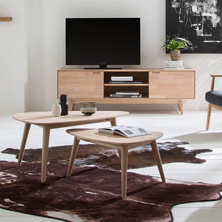 Finsby lowboard Buche Massiv Tv clFTK1J