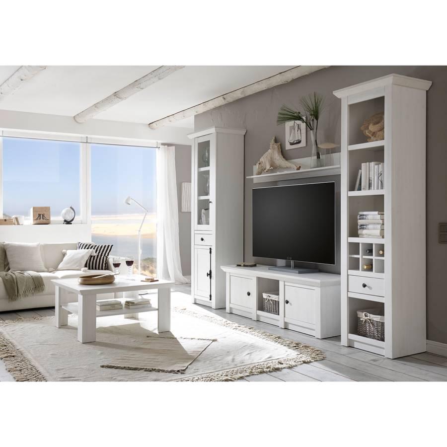 Meuble Tv Geestland Blanc Imitation Pin f7Yby6g