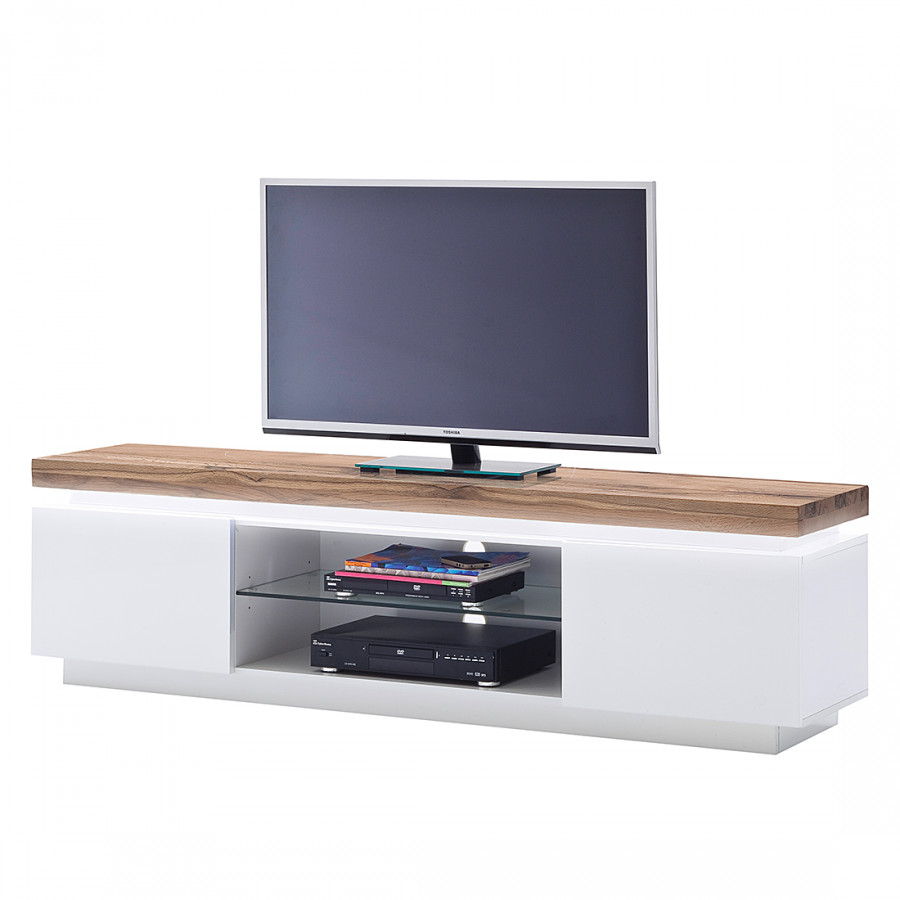 Tv lowboard weiss led  Jetzt bei Home24: Lowboard von loftscape | home24