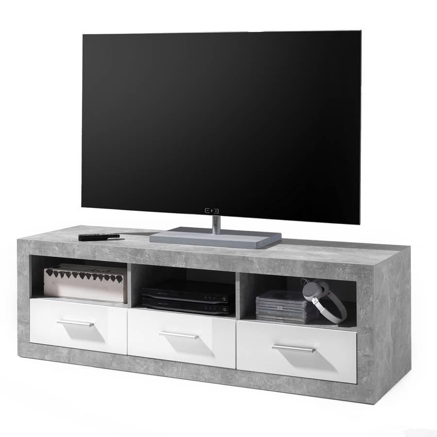 Rognan lowboard DekorWeiß lowboard Beton Beton Rognan Tv DekorWeiß Tv hQCsrdxt