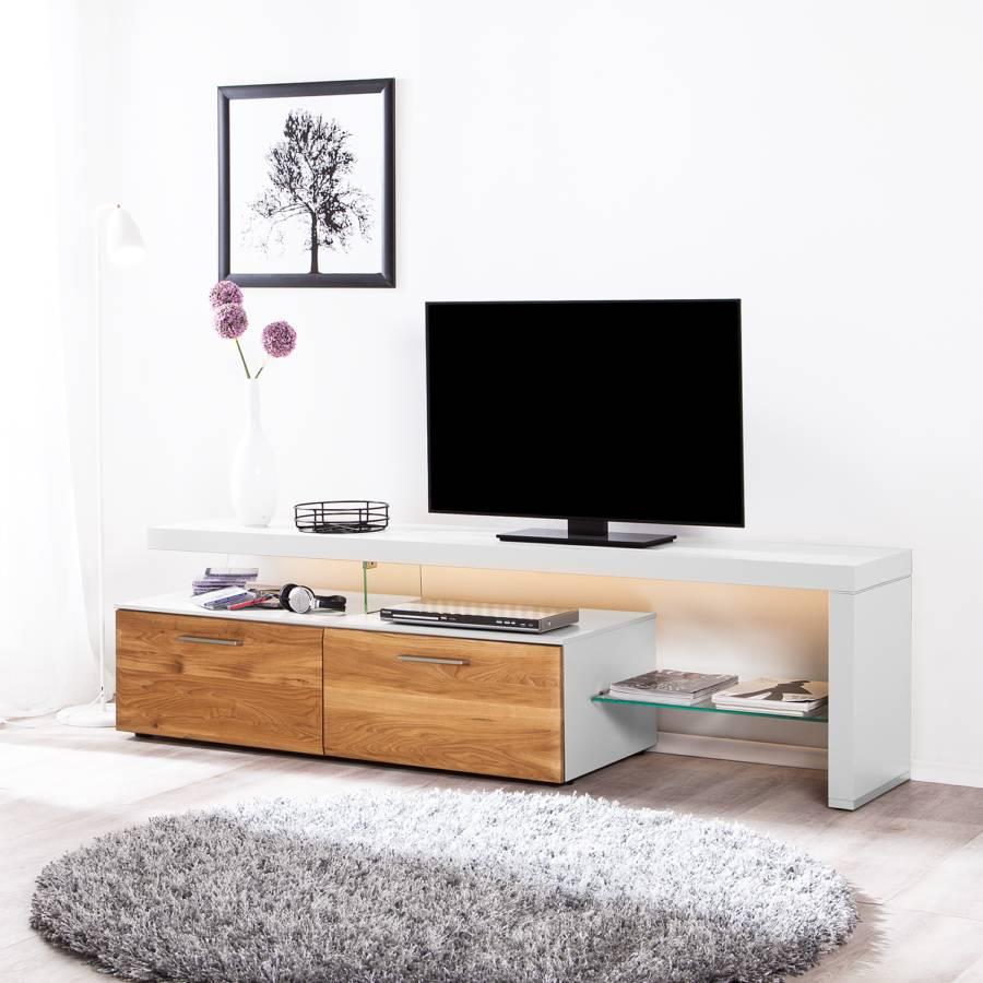 Beleuchtung Ausrichtung I Tv Solano AsteicheWeißMit Rechts lowboard POZkTwXiu