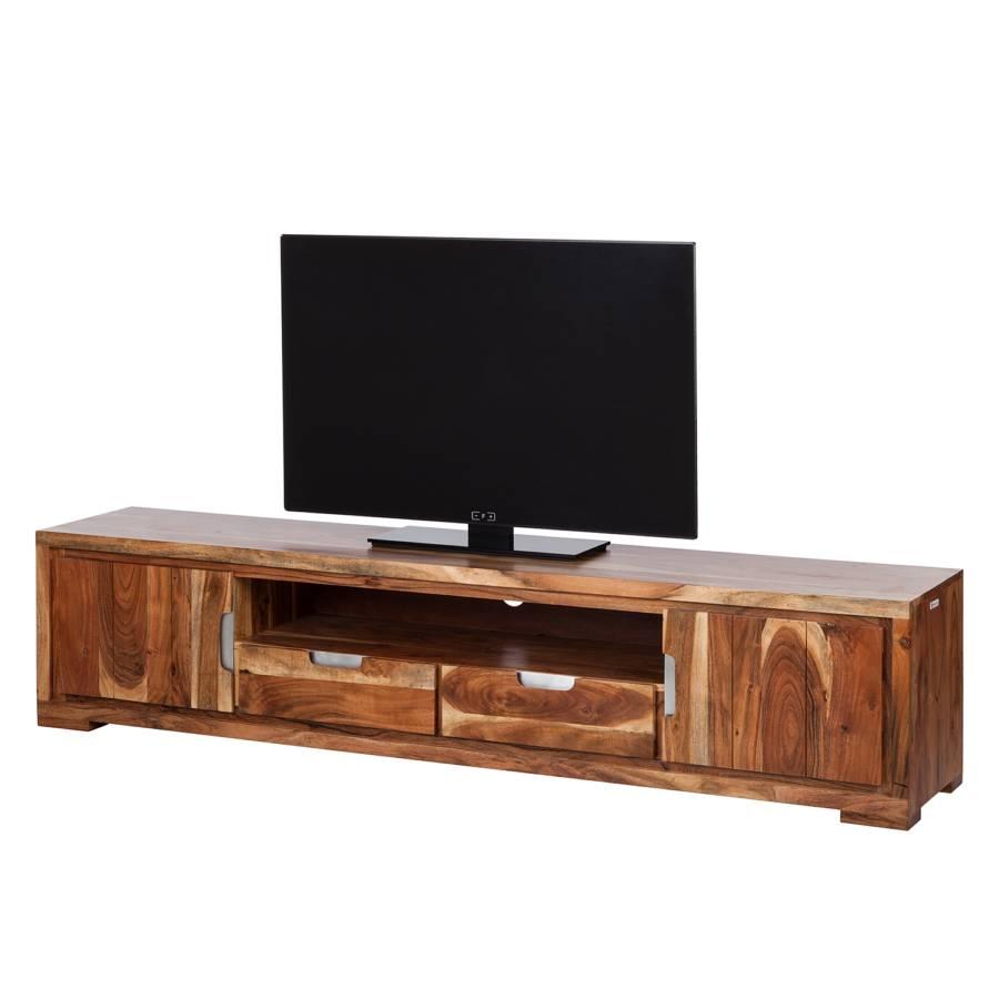 Ii Massif Acacia Meuble Vision Tv L5Aj4R