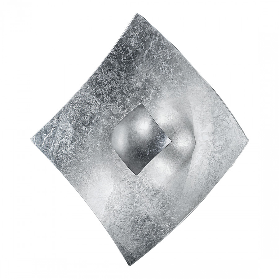 MetallGlas4 Wandleuchte flammig Wandleuchte Silber MetallGlas4 flammig Quadrangolo Silber Wandleuchte Quadrangolo Silber Quadrangolo TJF3lKc1