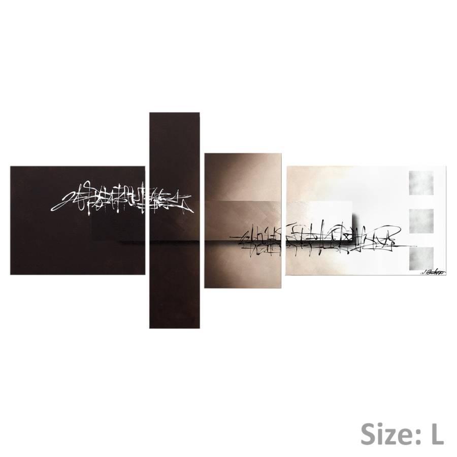 160 100HandgemaltGröße Cm Tagamp; L80 Wandbild Nacht Zwischen X qUVSzMp