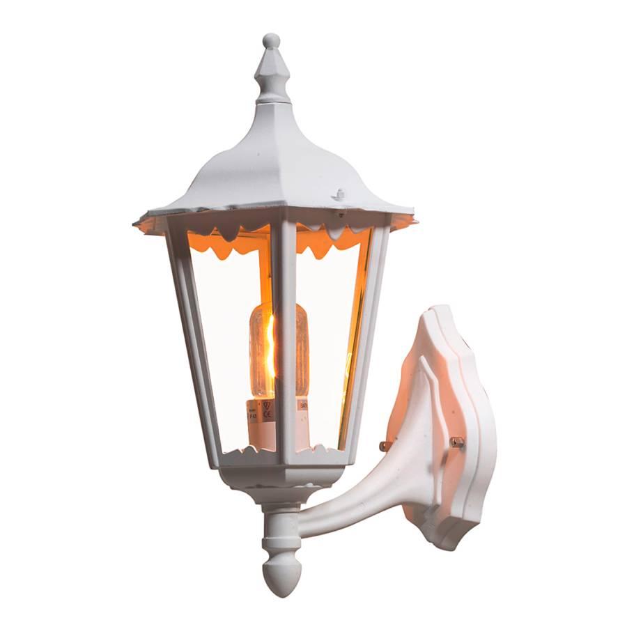 Aluminium Firenze Up glas1 flammig Wandleuchte 9WH2IYDE