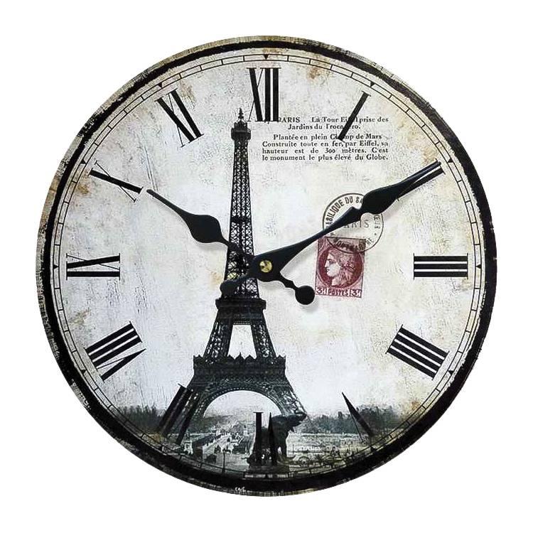 Paris Paris I Horloge Horloge I NoirBlanc Paris NoirBlanc I Horloge POk8nw0