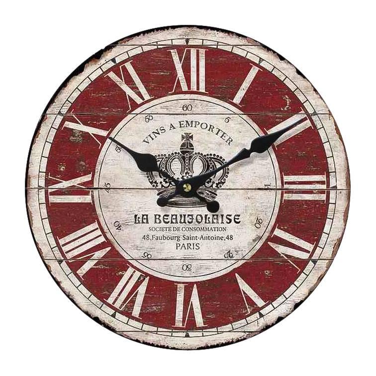 Ii Horloge Paris Horloge RougeBlanc Ii Paris 0vNnwm8