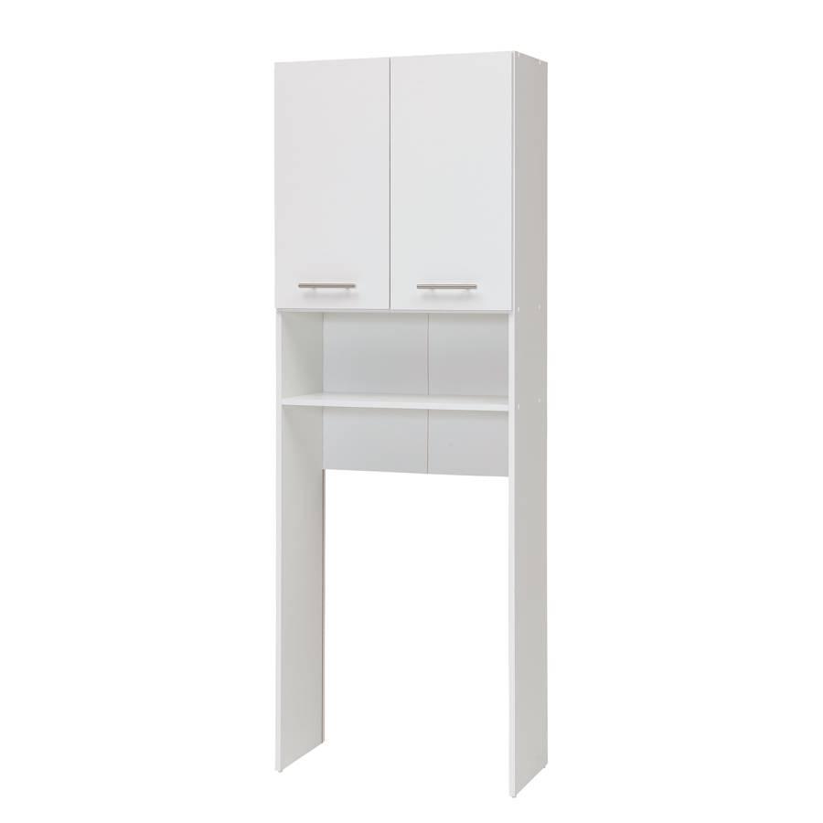Waschmaschinenschrank Liane - Perlweiß | home24