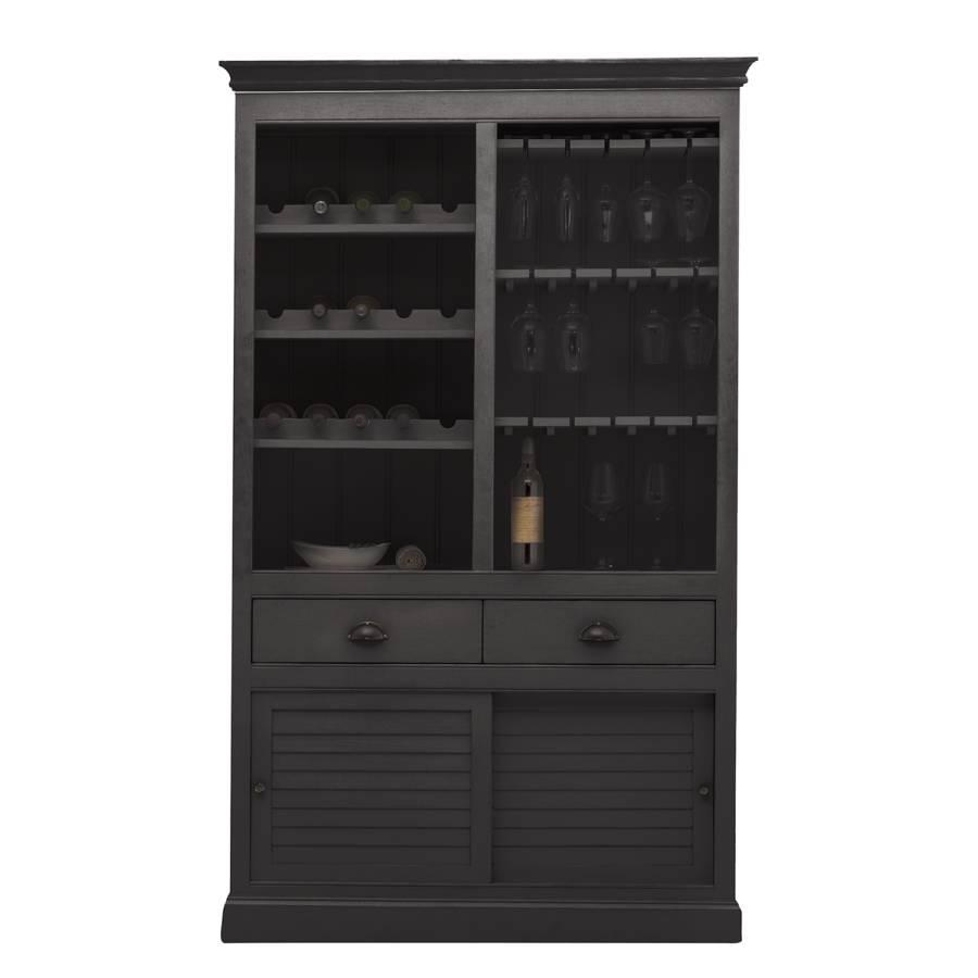 Noir Armoire Vin I À Sollerön DHWIYeE2b9