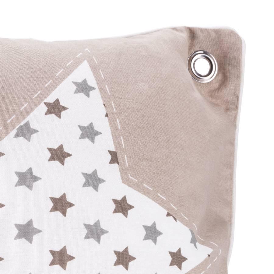 Kissen Neo Star Mini Bigamp; BaumwollstoffBeigeWeiß kXZPui