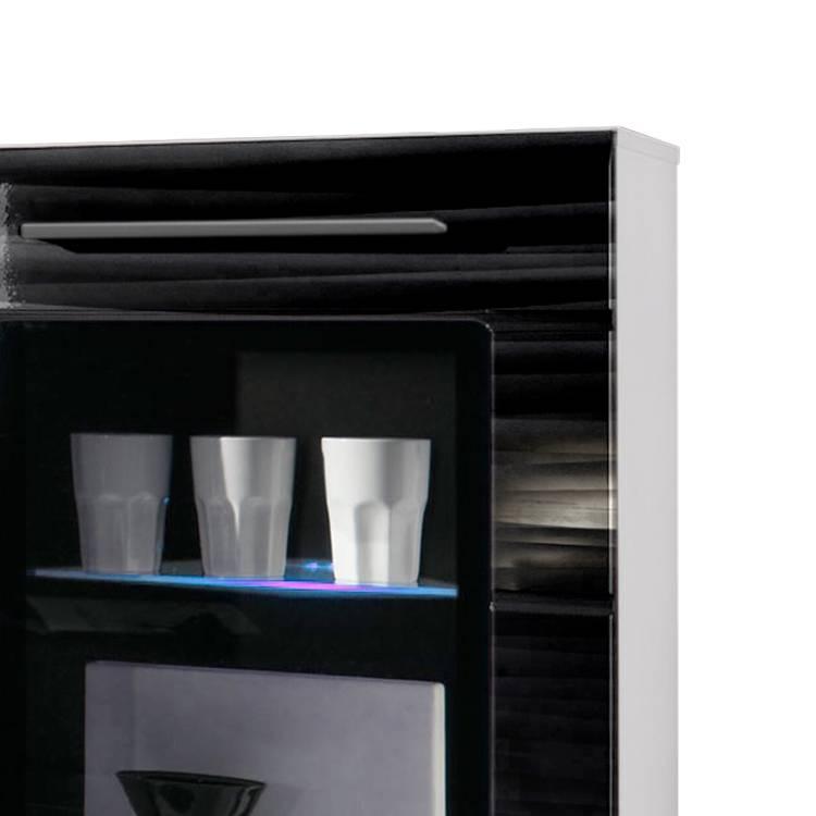 hochglanz schwarz cheap schnepel elf elflinie tv rack seiten schwarz hochglanz schwarz with. Black Bedroom Furniture Sets. Home Design Ideas