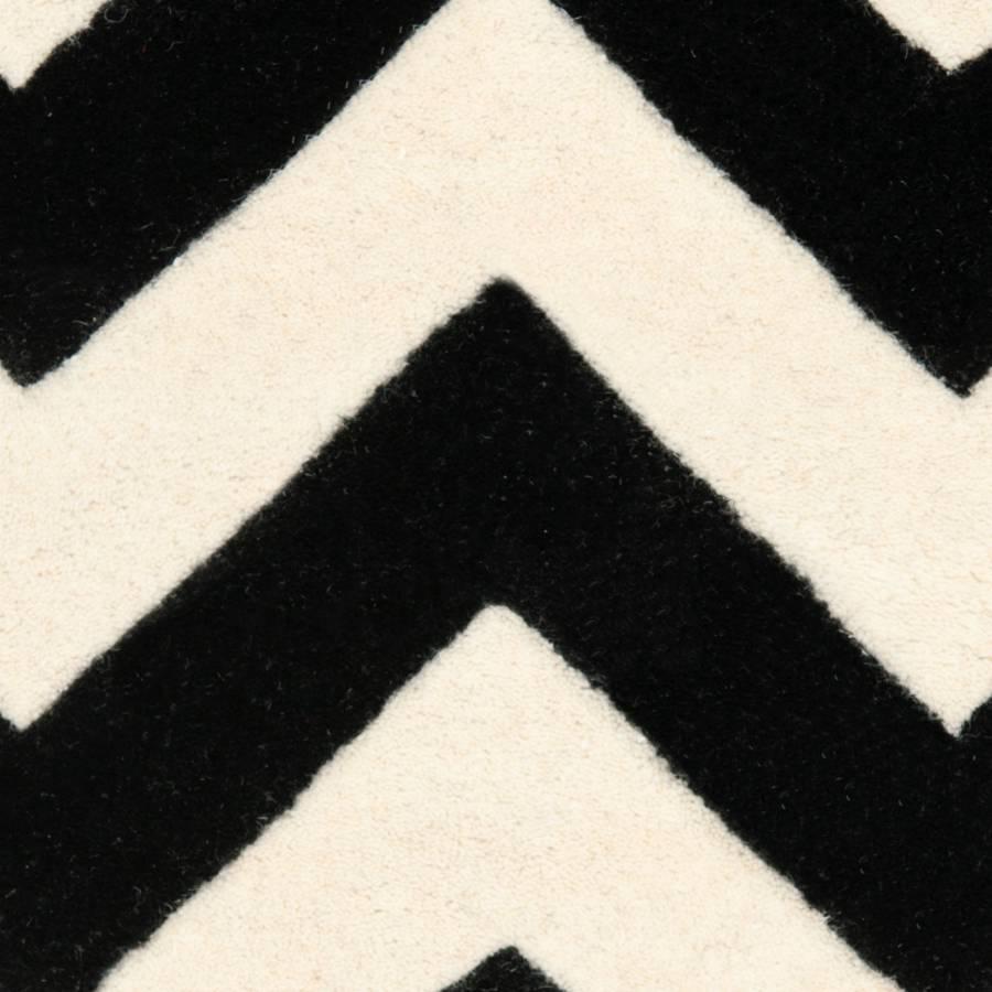 Bern Cm Wollteppich X 182 SchwarzCreme121 TJKlFc1