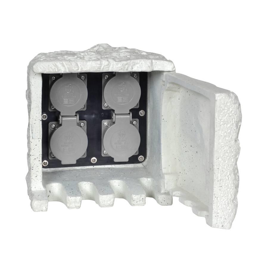 Matériau Courant Accessoire Prise Synthétique L'extérieurGris Pour De kiXuOZP