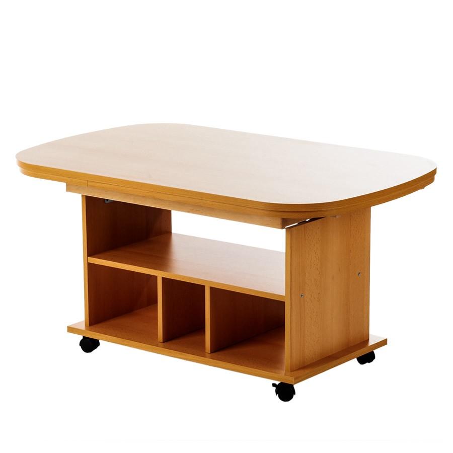 tavolino da salotto Bergen (regolabile in altezza-/allungabile) - Effetto faggio, Home Design