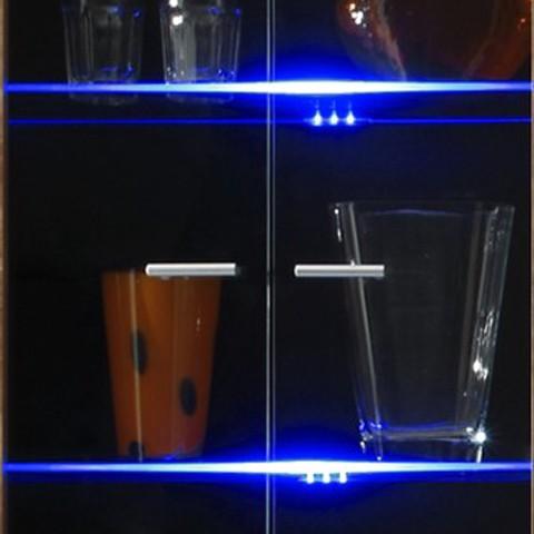 Image of energia A+, Illuminazioni a 5 led ledream - blu, California