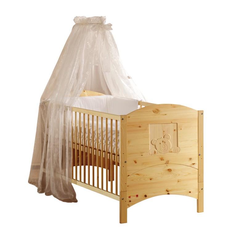 home24 Babybett Dream | Kinderzimmer > Babymöbel | Beige | Massivholz | Schardt