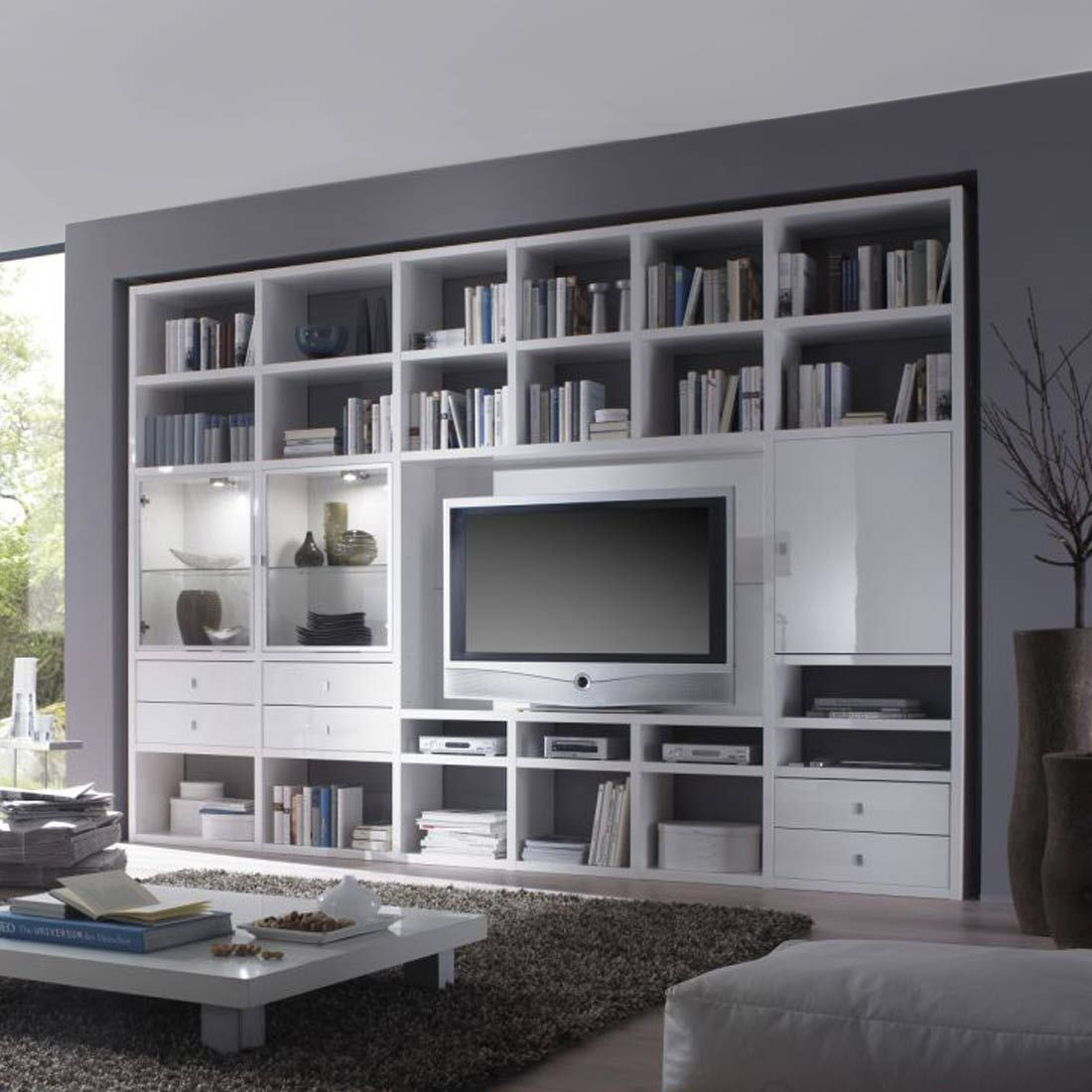 home24 meubels woonwanden. Black Bedroom Furniture Sets. Home Design Ideas