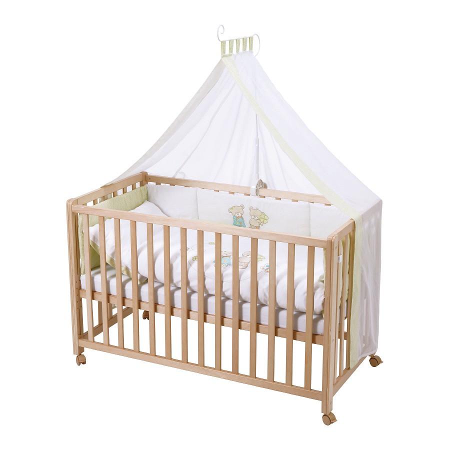Lit pour enfant Room Bed Porte - Bonheur - Hêtre partiellement massif - Jaune, Roba