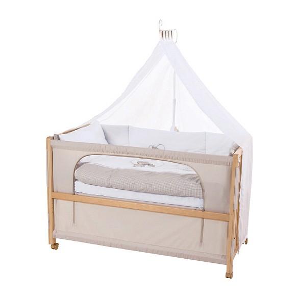 Room Bed Liebhabär - Buche teilmassiv - Beige, Roba