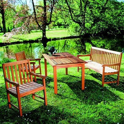 Panca da giardino Santos (a 2 sedute), Merxx