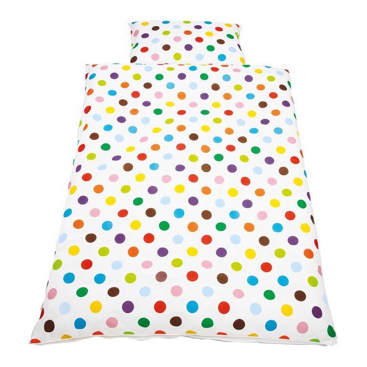 Kinderbettwaesche Dots, Pinolino