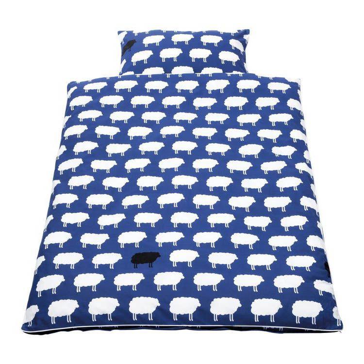 Parure de lit pour bébé Happy Sheep
