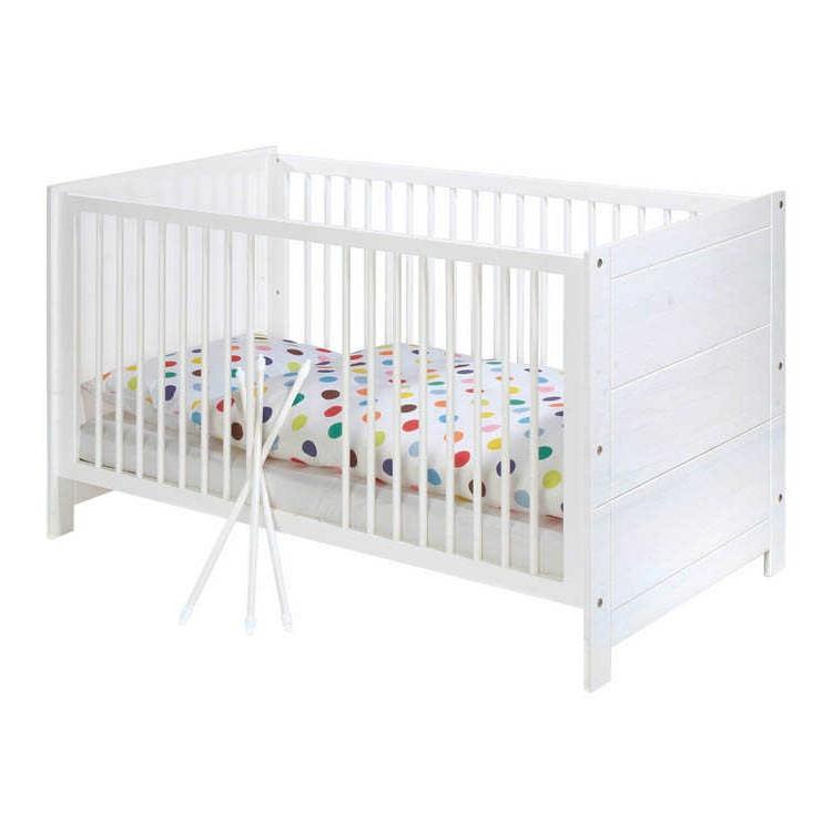 home24 Babybett Puro Kids | Kinderzimmer > Babymöbel > Babybetten & Babywiegen | Weiss | Massivholz | Pinolino