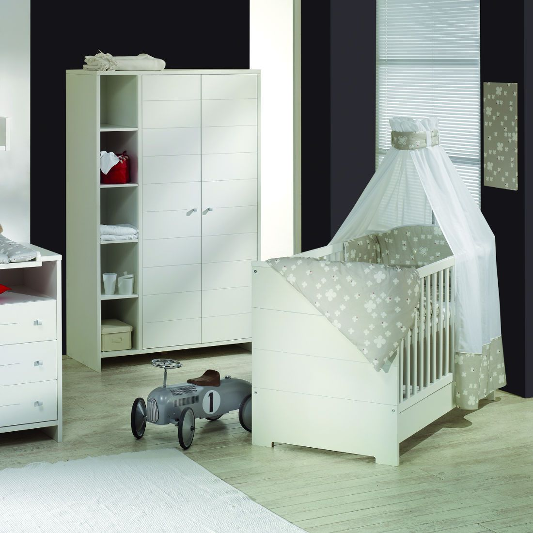Babyzimmer Eco Stripe (4-teilig)