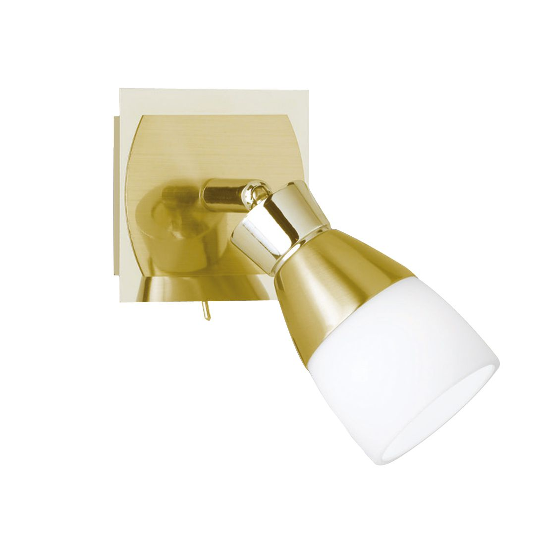 Spot mural LED orientable, aspect laiton