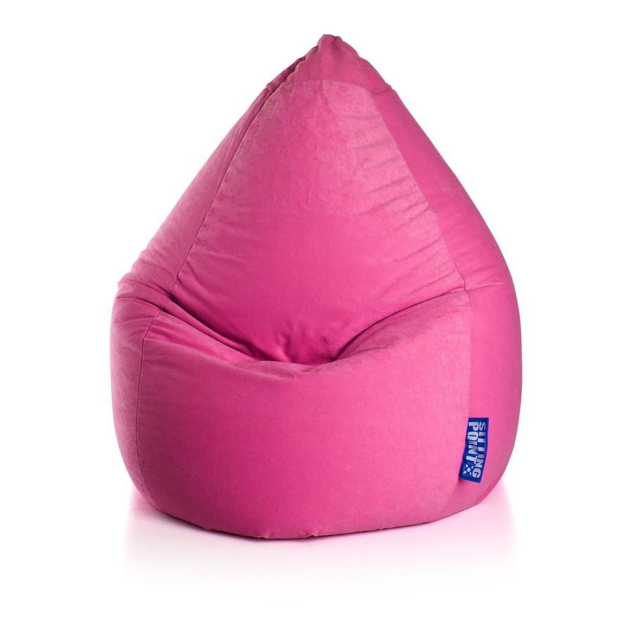 goedkoop Zitzak Easy L geel Pink SITTING POINT