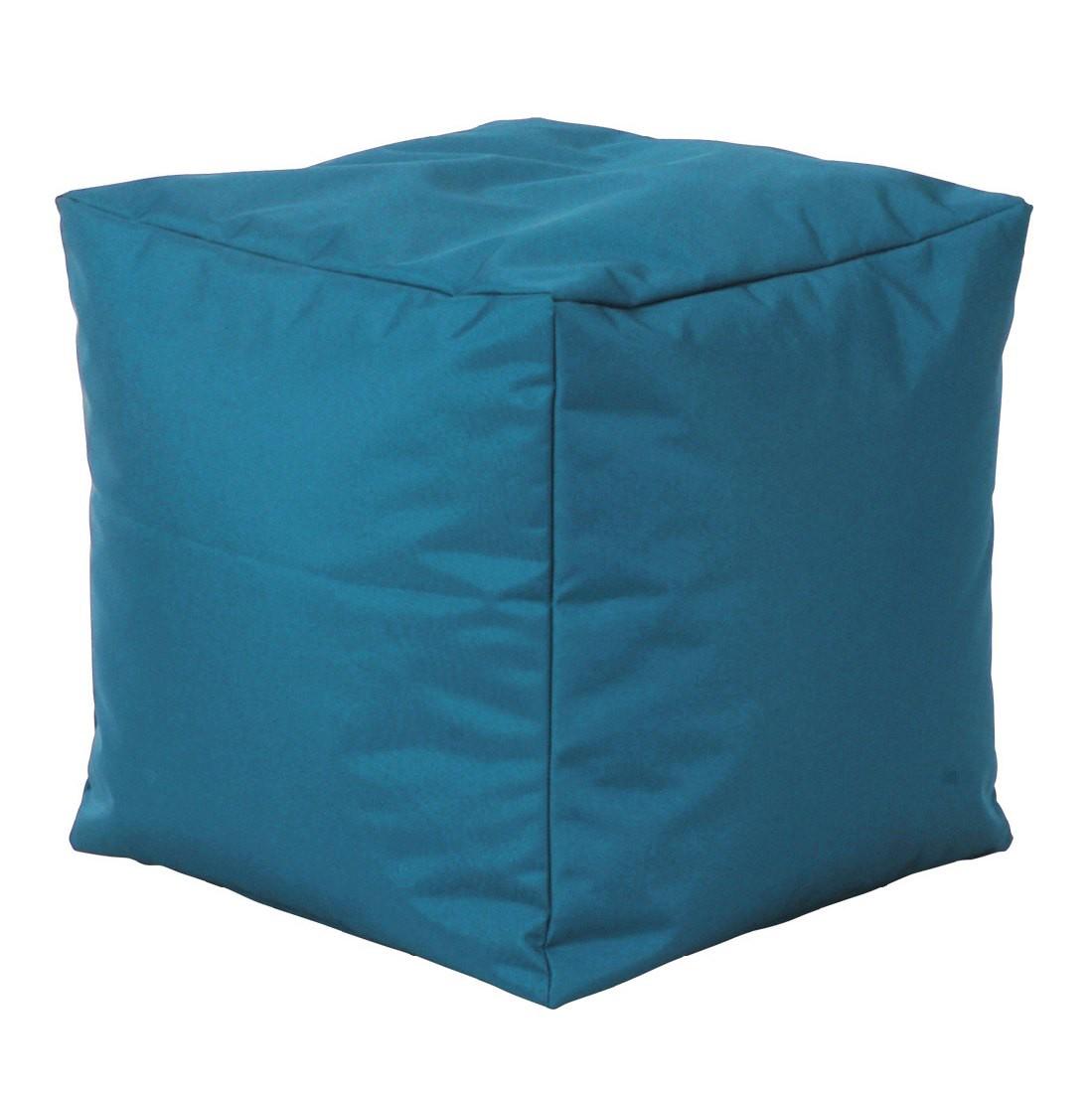 Sitzwürfel Scuba Cube - Stoff Petrol, SITTING POINT