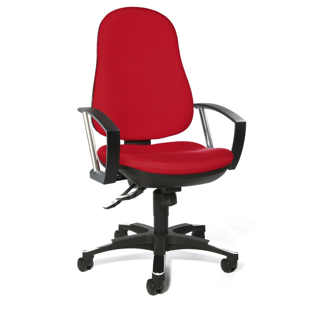 home24 Trend 10 Drehstuhl | Büro > Bürostühle und Sessel  > Bürostühle | Rot | Topstar